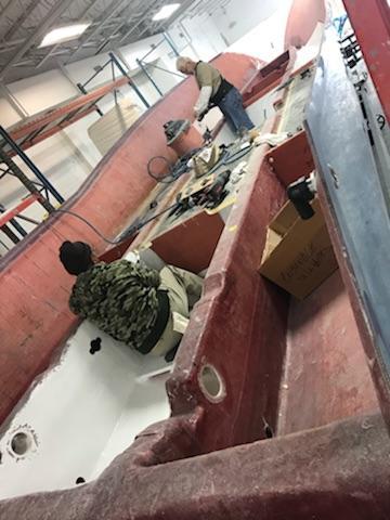 Preferred Marine Fishing Team Boat Build 11
