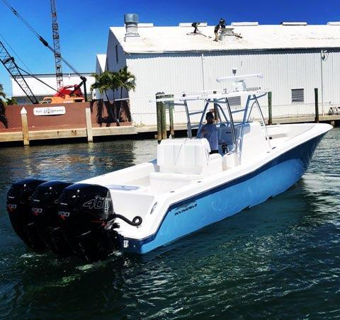 Preferred Marine Fishing Team Boat Build 14
