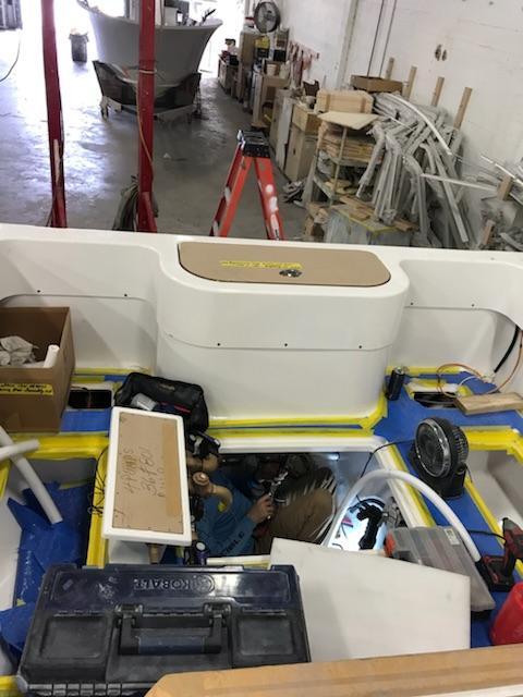Preferred Marine Fishing Team Boat Build 19