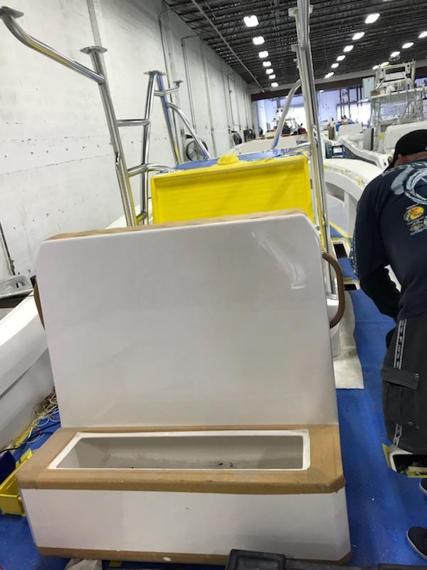 Preferred Marine Fishing Team Boat Build 3