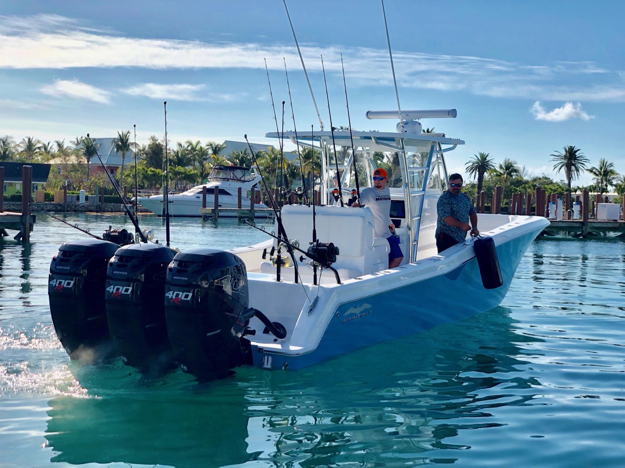 Preferred Marine Fishing Team Boat Build 36