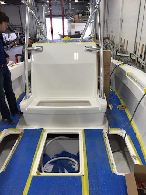 Preferred Marine Fishing Team Boat Build 39