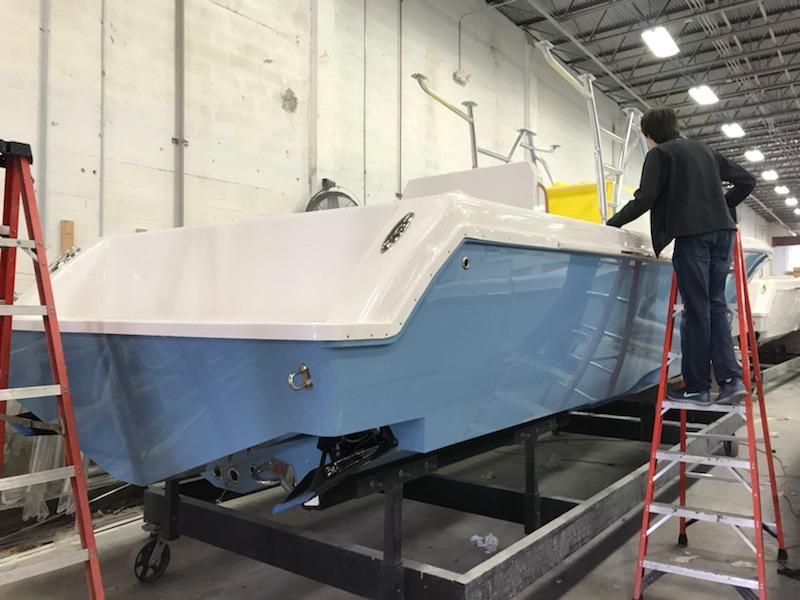 Preferred Marine Fishing Team Boat Build 46
