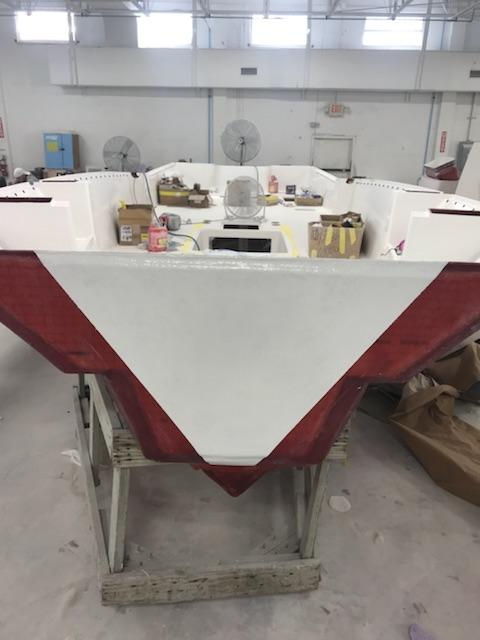 Preferred Marine Fishing Team Boat Build 47
