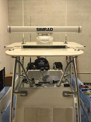 Preferred Marine Fishing Team Boat Build 49