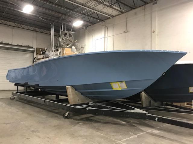 Preferred Marine Fishing Team Boat Build 54