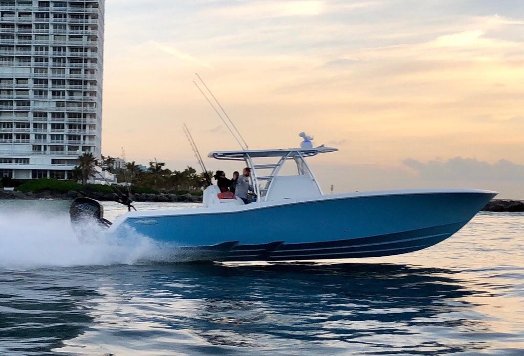 Preferred Marine Fishing Team Boat Build 62