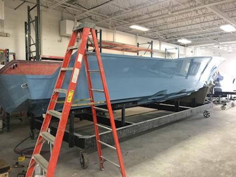 Preferred Marine Fishing Team Boat Build 63