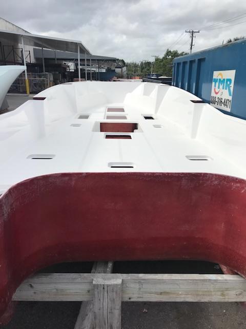 Preferred Marine Fishing Team Boat Build 9
